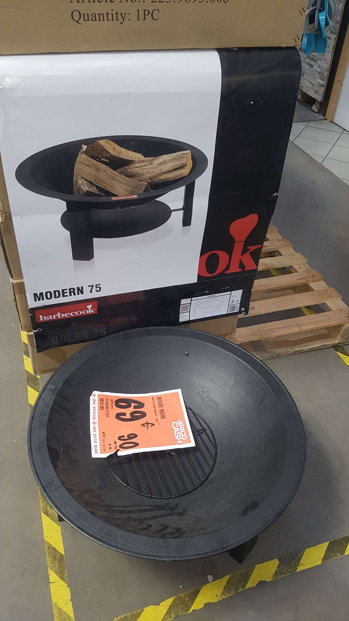Brasero Barbecook Modern 75 Brico Cash Agde 34 Dealabs Com