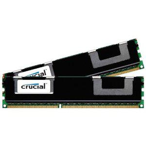 Kit Mémoire pour serveur (ECC) - Crucial 32 Go : 2 x 16 Go - DIMM 240 broches - DDR3 - 1333 MHz / PC3-10600 - CL9