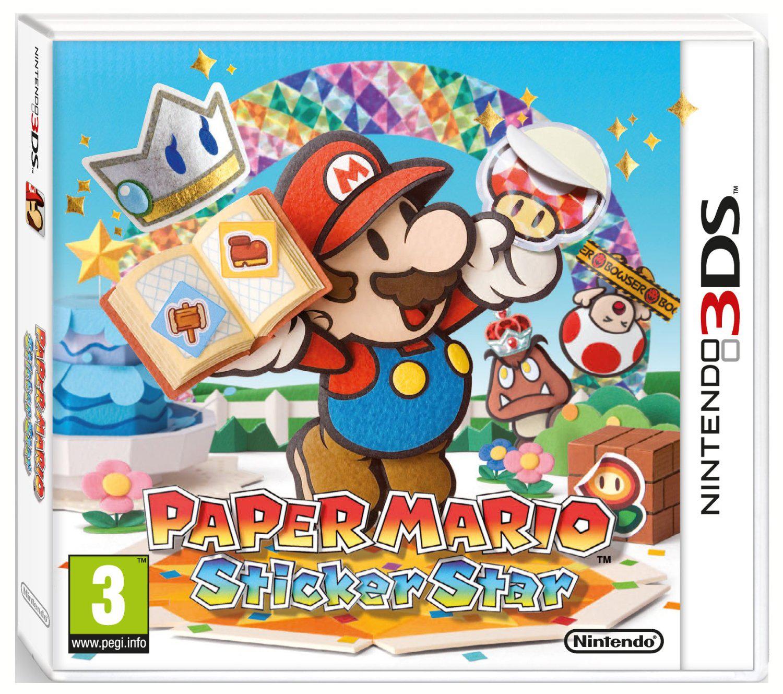 Jeu Paper Mario Sticker Star sur Nintendo 3DS