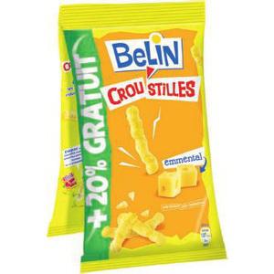 lot de 3x2 paquets Croustilles Belin