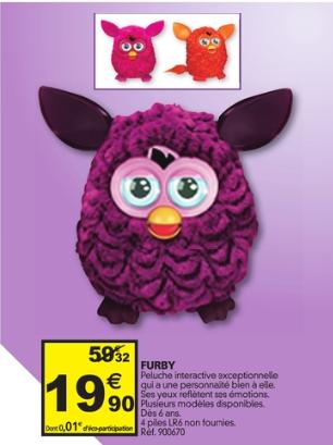 jouet interactif Furby