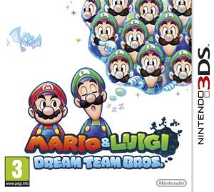 Jeu  Mario & Luigi Dream Team Bros sur Nintendo 3DS (retrait en magasin)