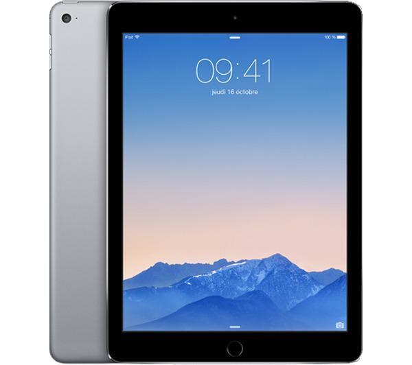 Tablette Apple iPad Air 2 16Go WiFi - 16 Go - Gris sidéral