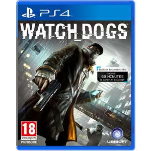 Watch Dogs sur PS4 / XBOX One