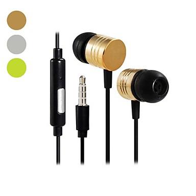 Ecouteurs intra-auriculaires avec microphone Dbb stéréo audio jack 3,5 mm (120cm)