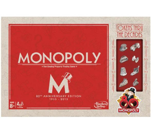 Jeu Monopoly Vintage 80 ans (ODR 50%)