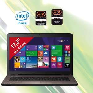 "PC portable 17,3"" Medion akoya 7416 - i5-5200U"