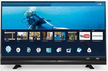"TV 42"" grundig 42VLE841BL - 3D"