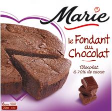 Le fondant au chocolat Marie (via Shopmium et 50% carte fidélité)