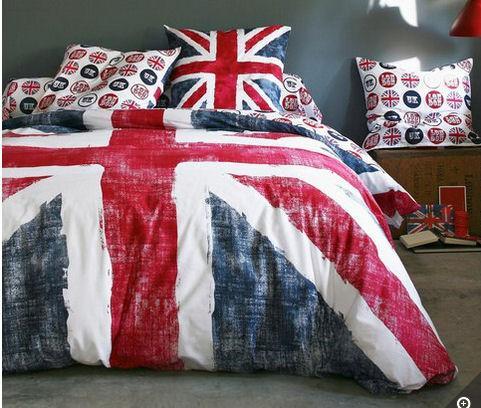 Housse de couette drapeau anglais (140 x 200cm)
