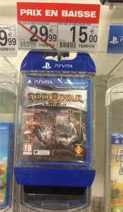 God of War Collection sur PS Vita