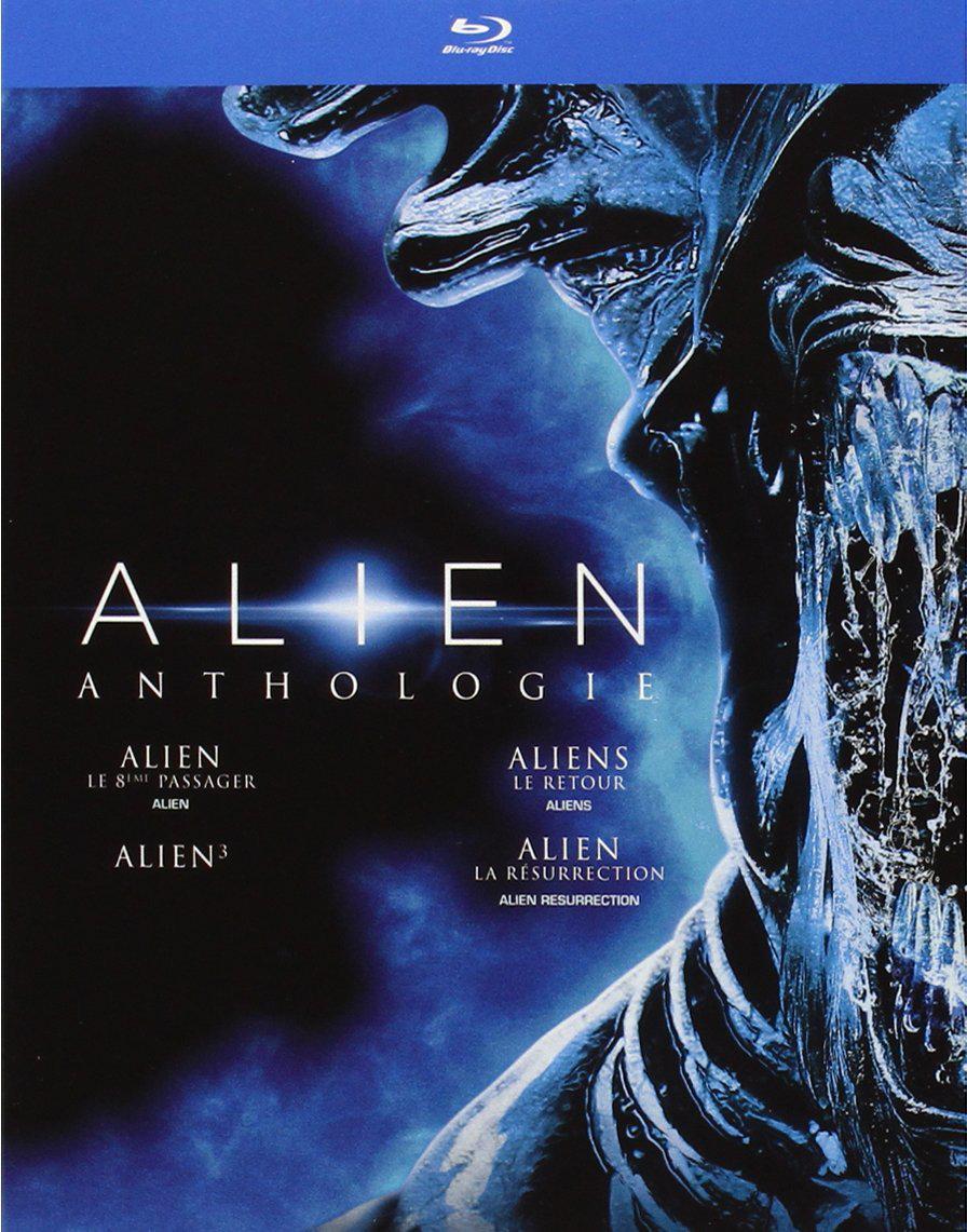 Coffret 4 Blu-ray Alien Anthologie