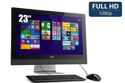 """PC de bureau All in One 23""""- Acer Aspire Z3-615 - Ecran Full HD IPS"""