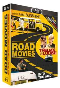 Coffret 3 films en Blu-ray - Road Movie : Little Miss Sunshine + Thelma & Louise + Into the Wild [+ Goodies]