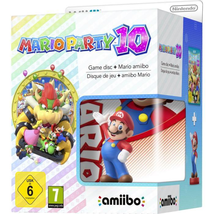 Précommande jeu Mario Party 10 + Amiibo Mario sur Wii U