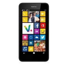 "Smartphone 4,5"" Nokia Lumia 630 noir double sim"