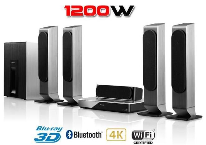 Home Cinéma 5.1 Panasonic SC-BTT505 - Blu-Ray 3D Bluetooth (Enceintes arrières sans fil)
