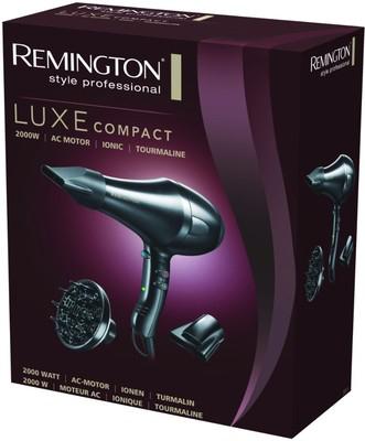 Sèche cheveux Remington Luxe Compact Pro Ionic 2000Watts