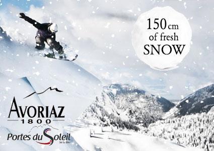 Forfait Ski Journée aux Portes du Soleil