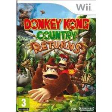 Donkey Kong Country Returns sur Wii U (Dématérialisé)