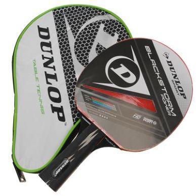 raquette tennis de table Dunlop Black Storm Power avec étui