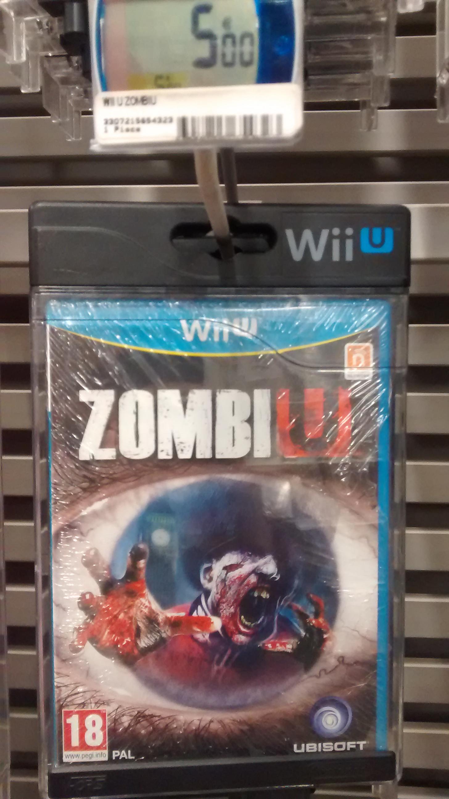 Jeu vidéo Zombi U sur Wii U