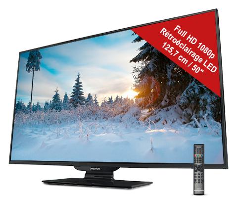 """TV 50"""" Medion MD-30859 -  Smart TV - LED"""