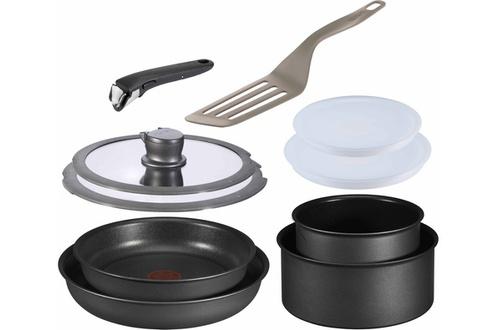 Batterie de cuisine - Tefal 10 Pièces Ingenio 5 (tous feuxdont INDUCTION)