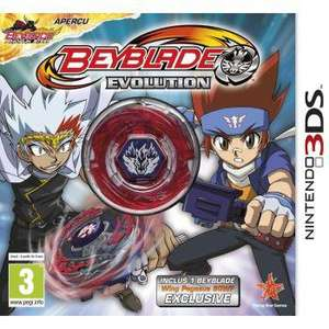 Jeu 3DS Beyblade Evolution Toy Collector's Edition