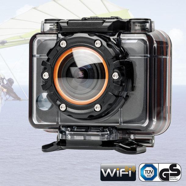 Caméra sport WiFi - 5 MP - 1080p - Garantie 3 ans
