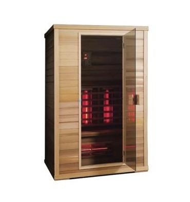 Sauna Infrarouge Optimum K de sauvin Life 3 Place Spectre complet
