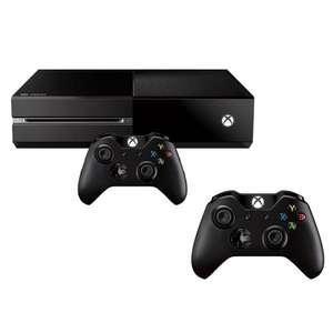 Console Microsoft Xbox One + 2 Manettes