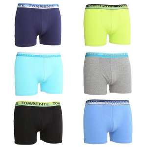 Lot de 6 boxers Homme Torrente Couture
