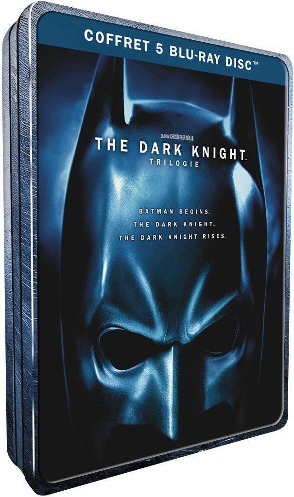 Coffret Blu-ray The Dark Knight - La trilogie - Coffret métal  Édition limitée