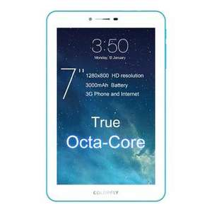 """Tablette 7"""" Colorfly G708 - OctaCore, 3G, RAM 1Go, 1280x800, Android 4.4"""