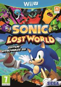 Sonic Lost World - Edition Effroyables Six sur Wii U