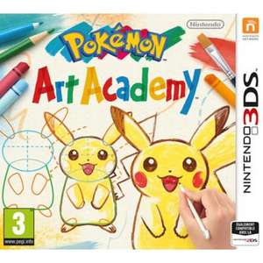 Pokemon Art Academy sur 3DS
