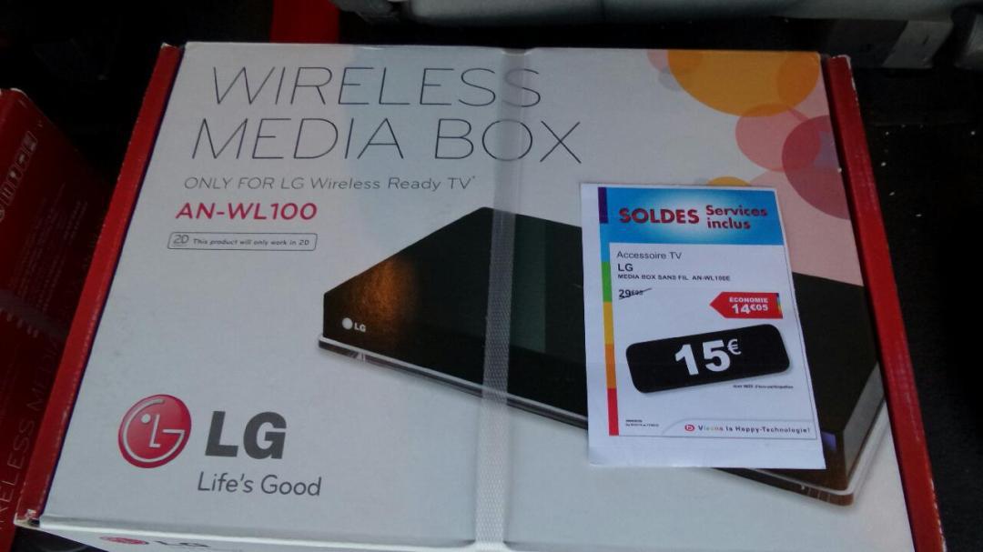 Média box LG AN-WL100