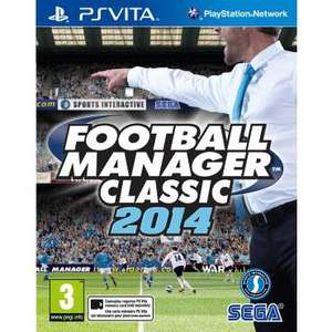 Football Manager Classic sur PS Vita