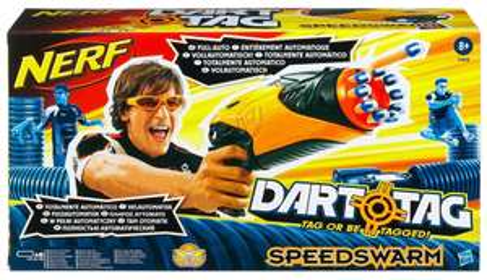 Pistolet Hasbro - Nerf Dart Tag Speedswarm