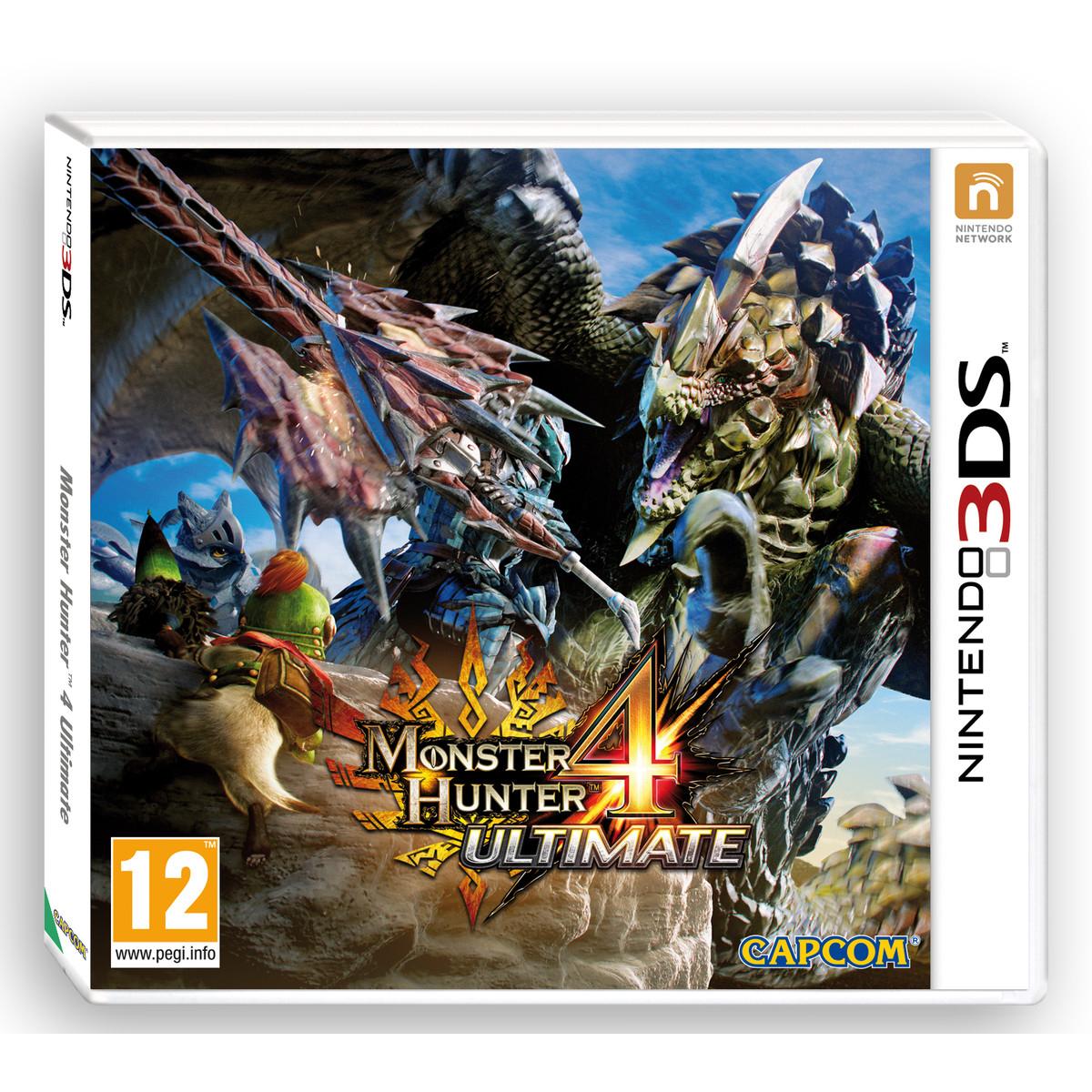 Précommande : Monster Hunter 4 Ultimate 3DS (13/02/2015)