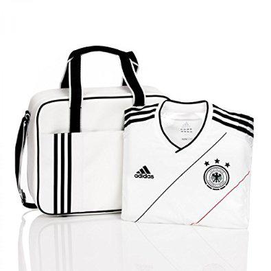 Maillot de football officiel Adidas Allemagne 2012-13 avec sa valise de présentation (Taille M et L)
