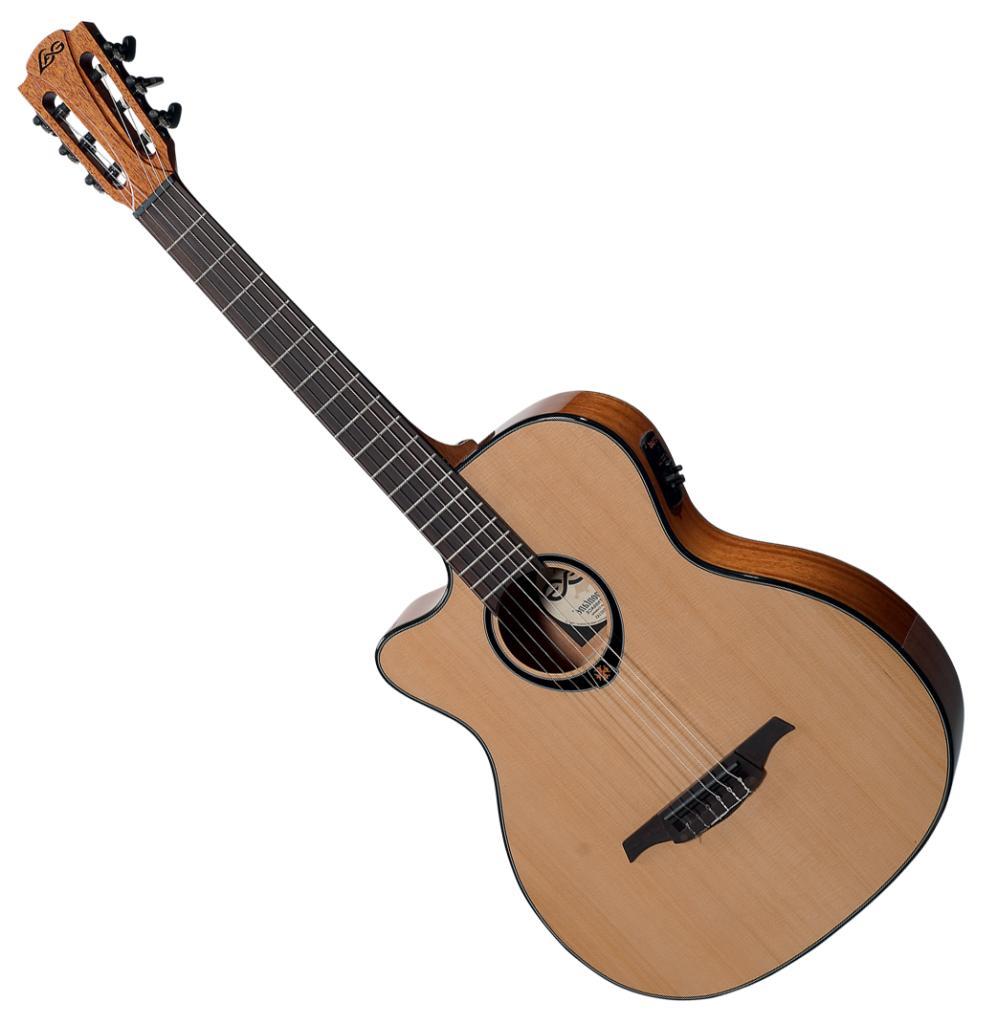 Guitare électro classique Lâg TNL66ACE pour gauchers