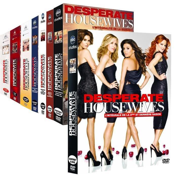 Coffret DVD Intégrale Desperate Housewives (Saison 1 à 8)