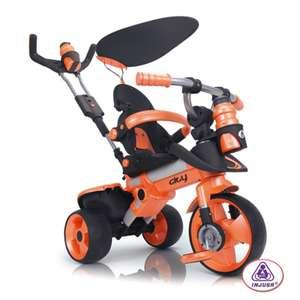 Tricycle haut de gamme Injusa City 14 En 1