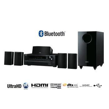 Système ampli-tuner Bluetooth + Enceintes 5.1 Onkyo HT-S3705