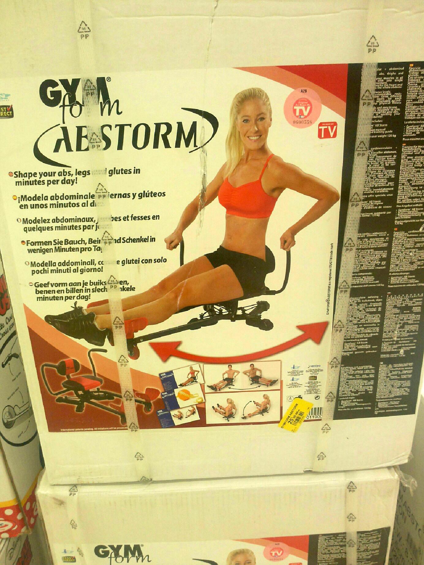 Appareil de musculation Gymform AbStorm