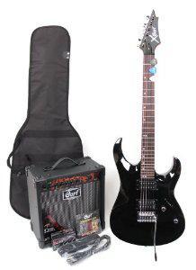 Pack Guitare électrique Cort X-1  avec ampli et accessoires