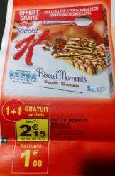 2 paquets Special K Biscuits Moments Chocolat