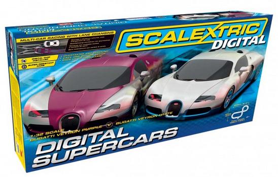 circuit de voiture Scalextric Digital Supercars Set - C1322